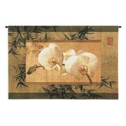 PCI Bamboo and Orchids Tapestry Wall Decor