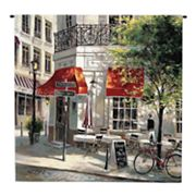 PCI Corner Cafe Tapestry Wall Decor