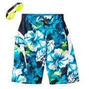 ZeroXposur Tropical Heat Swim Trunks - Boys 8-20