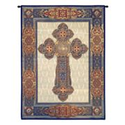 PCI Gothic Cross Tapestry Wall Decor