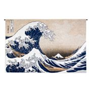 PCI Great Wave At Kanagawa Tapestry Wall Decor