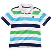 OshKosh B'gosh Heathered Striped Polo - Boys 4-7x