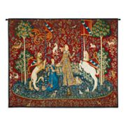 PCI Lady and the Unicorn - Taste Tapestry Wall Decor
