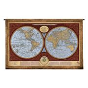 PCI Map Of The World Tapestry Wall Decor