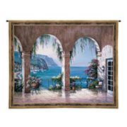 PCI Mediterranean Arch Tapestry Wall Decor