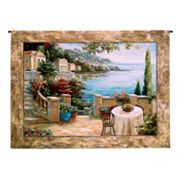 PCI Mediterranean Terrace Tapestry Wall Decor