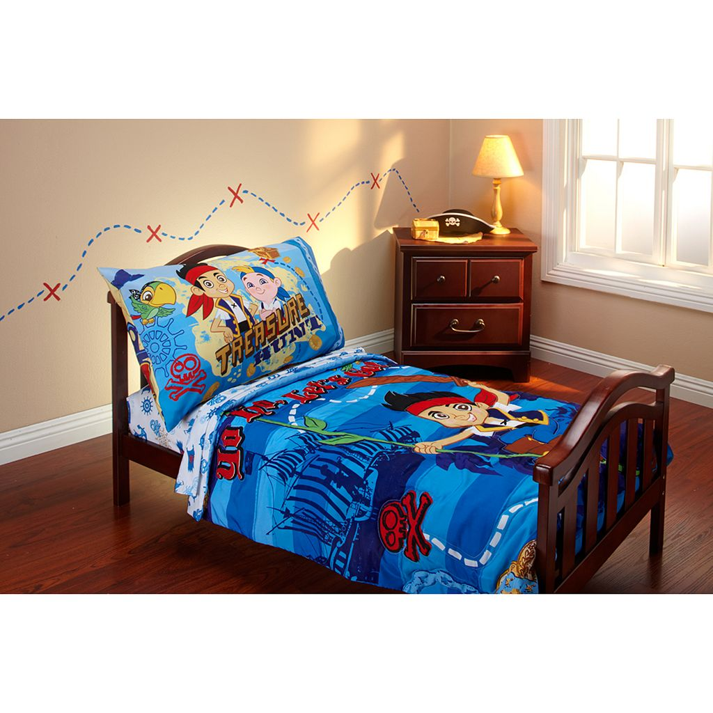 Disney Jake and the Never Land Pirates 4-pc. Toddler Bedding Set