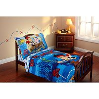 Disney Jake and the Never Land Pirates 4 pc Toddler Bedding Set