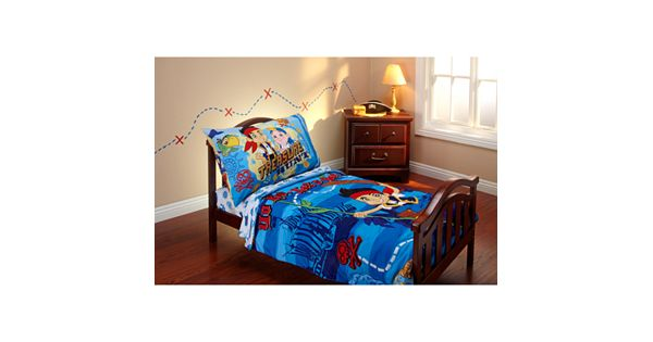 Boys Pirate Bedroom: Disney Jake And The Never Land Pirates 4-pc. Toddler