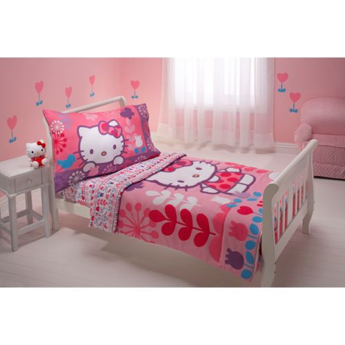 Hello Kitty® 4-pc. Toddler Bedding Set