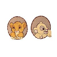 Disney The Lion King 2-pc. Go Wild Wall Art