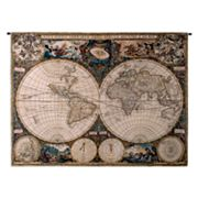 PCI Old World Map Tapestry Wall Decor
