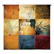 PCI Orchid Nine Patch Tapestry Wall Decor