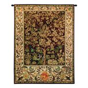 PCI Tree of Life Umber Tapestry Wall Decor
