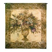 PCI Tuscan Urn Tapestry Wall Decor