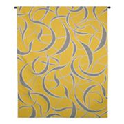 PCI Twists and Turns - Lemon Tapestry Wall Decor