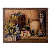 PCI Wine Tasting Tapestry Wall Decor