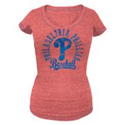 Philadelphia Phillies Distressed Tee - Women