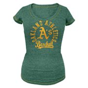 Oakland Athletics Distressed Tee - Women