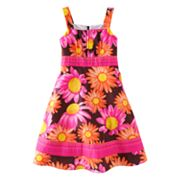 Jessica Ann Floral Sundress - Girls Plus