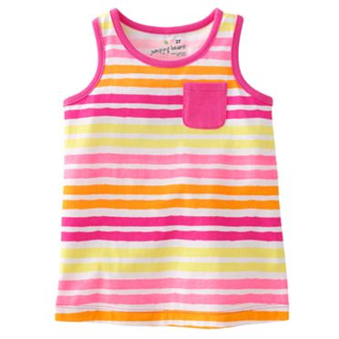 Jumping Beans Striped Tank - Toddler