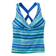 Southpoint Striped Tankini Top
