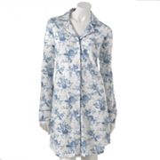 Chaps An English Winter Floral Sleep Shirt