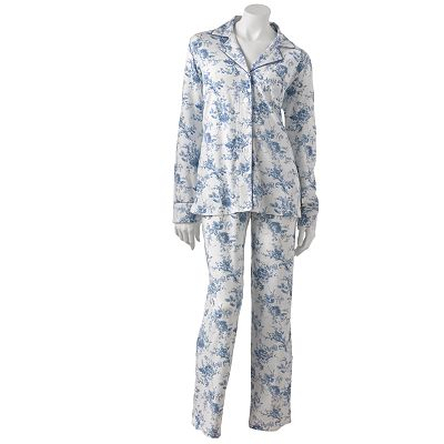 Chaps An English Winter Knit Pajama Set