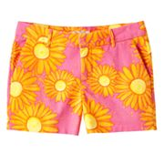 SO Floral Chino Shorts - Girls 7-16