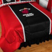 Miami Heat Bedskirt - Full