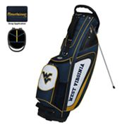 Team Effort West Virginia Mountaineers Gridiron II Golf Bag