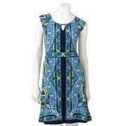 Apt. 9 Paisley Empire Dress - Petite