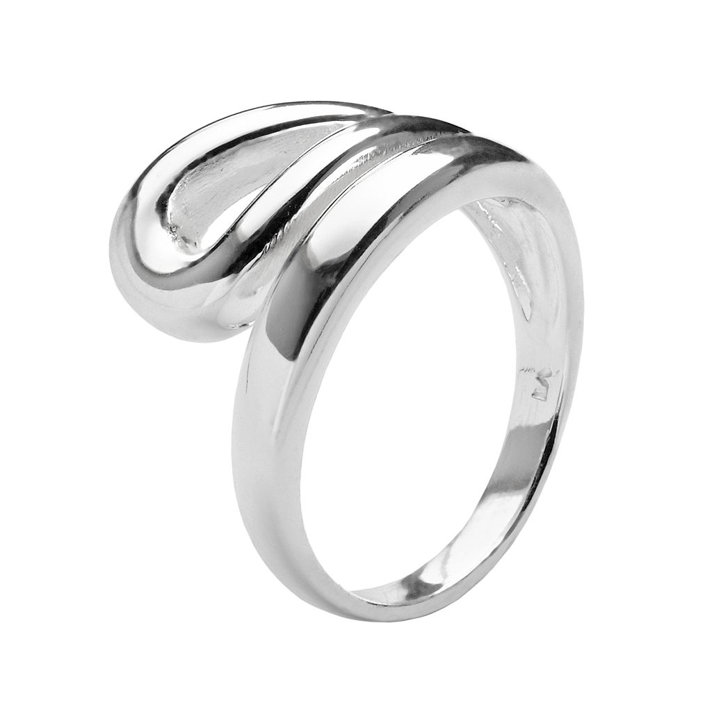 Silver Plated Open Loop Ring