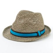 Marc Anthony Open-Weave Straw Fedora