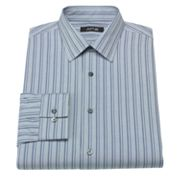 Apt. 9 Slim-Fit Striped Spread-Collar Dress Shirt