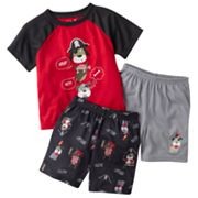 Jumping Beans Pirate Dog Raglan Pajama Set - Toddler