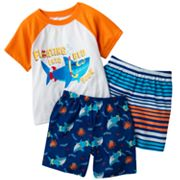 Jumping Beans Shark Raglan Pajama Set - Toddler