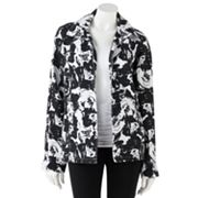 Sag Harbor Floral Textured Jacket - Petite