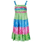 Emily West Tiered Burnout Dress - Girls 7-16