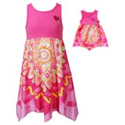 Dollie and Me Medallion Dress - Girls 7-12