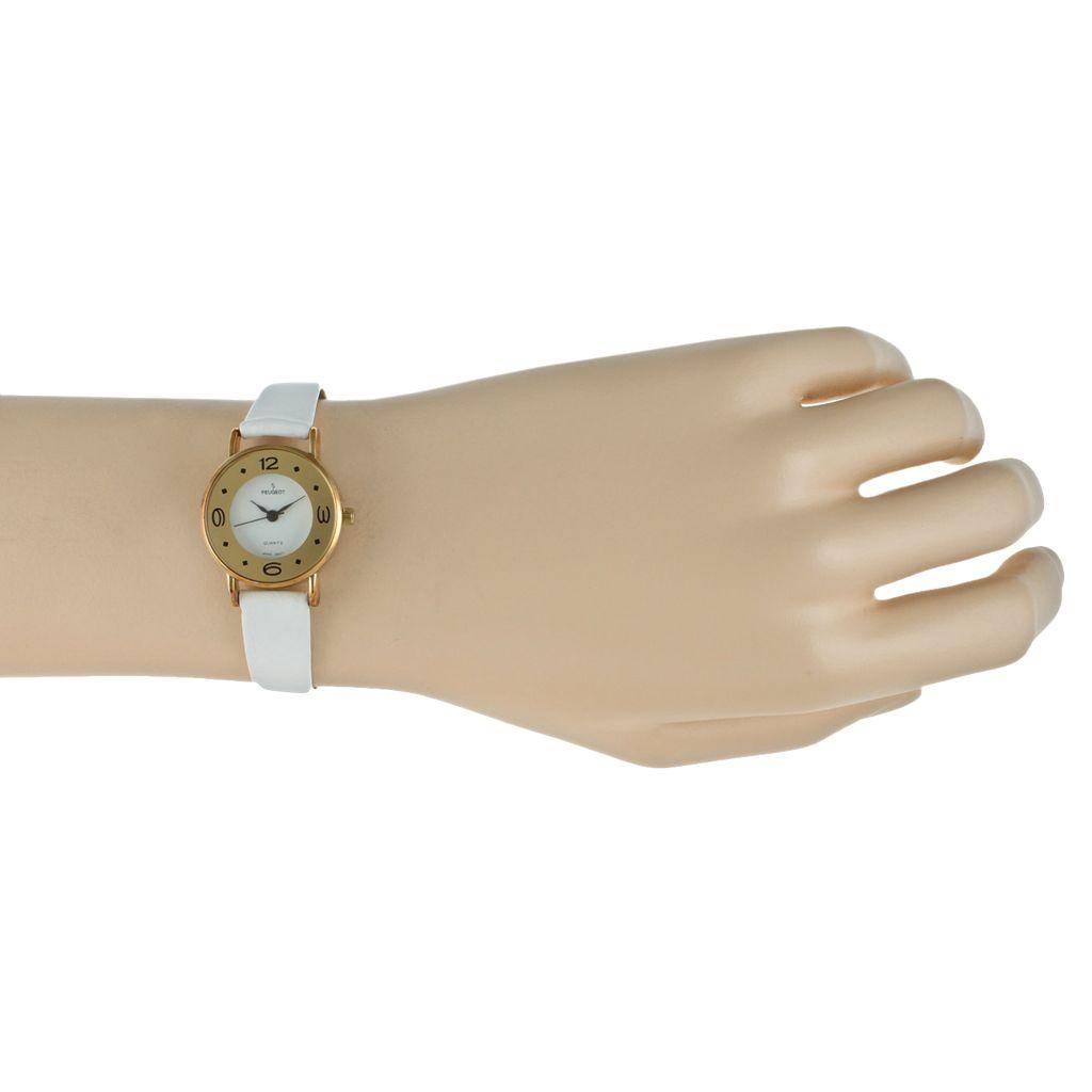 Peugeot Women's Leather Watch - 380-4