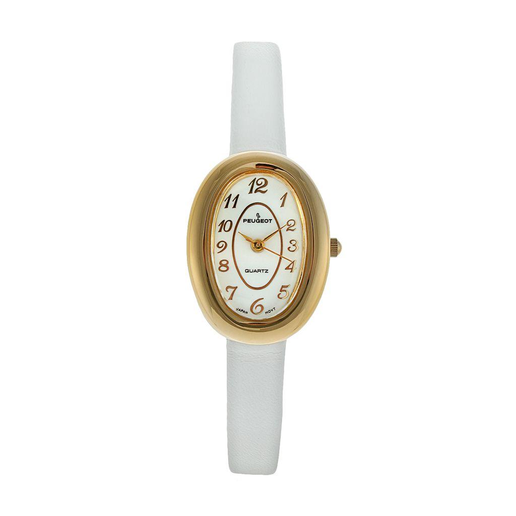 Peugeot Women's Leather Watch - 380-17