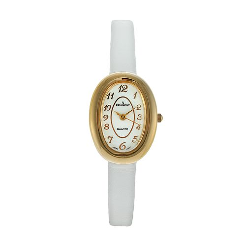 Peugeot Women's Leather Watch - 380-17