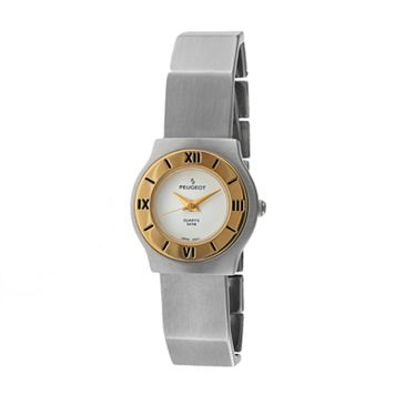 Peugeot Women's Two Tone Watch - 729WT