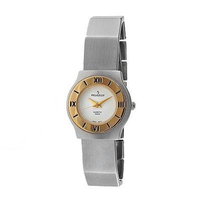 Peugeot Two Tone Watch - 729WT - Women