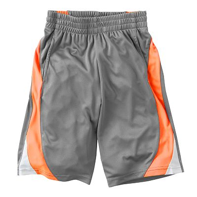 Jumping Beans Side-Stripe Performance Shorts - Boys 4-7x