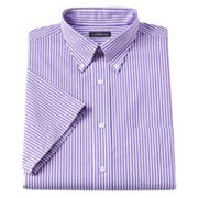Croft and Barrow Striped Button-Down Collar Oxford Dress Shirt