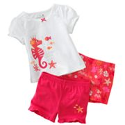 Jumping Beans Sea Horse Pajama Set - Toddler