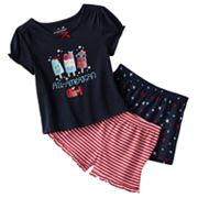 Jumping Beans All-American Girl Pajama Set - Toddler