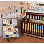 Sumersault Animal Patch 4-pc. Crib Set
